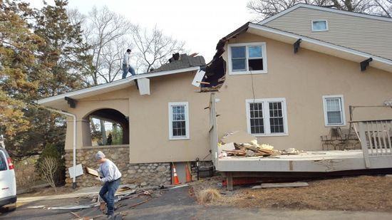 Storm damage restoration by Jersey Pro Restoration LLC