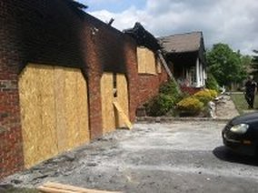 Fire damage restoration in Wayne New Jersey